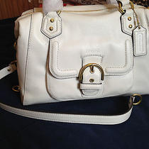 Authentic Coach Campbell Leather Satchel (Style  F24690) Photo