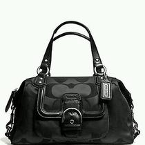 Authentic Coach  Campbell Signature Satchel Retail 328 Photo