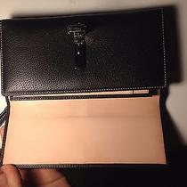 Authentic Coach Clutch With Matching Check Book Holder.  Photo