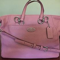 Authentic Coach Colette Satchel Pebble Leather F34508 - Immaculate Photo
