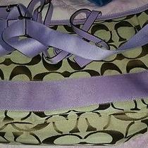 Authentic Coach Diaper Bag Photo
