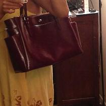 Authentic Coach Diaper Bag (Merlot Burgundy Wine Color) Photo