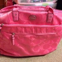 Authentic Coach Diaper Bag / Multipurpose Purse Photo