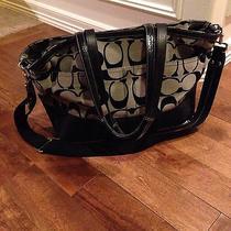 Authentic Coach Diaper Bag or Large Purse Photo