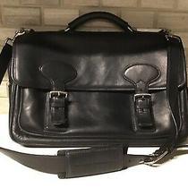 Authentic Coach G23-5237 Laptop Leather Organizer Briefcase Bag Unisex Photo