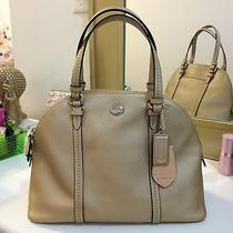 Authentic Coach Gold Satchel/crossbody Purse  Photo