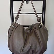 Authentic Coach Gray or Taupe/ Graphite  Parker  Hobo Bag  14157 Photo