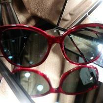 authentic.coach Hc 8271u (L1101) Women's Sunglasses 555787 Transparent Burgundy Photo