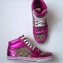 Authentic Coach High Top Sneakers Photo