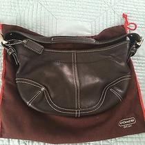Authentic Coach Hobo Small Leather Bag Photo