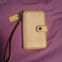 Authentic Coach Iphone Wristlet/wallet Photo