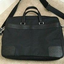 Authentic Coach Laptop Bag Photo