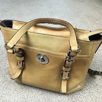 Authentic Coach Leather Bag Photo