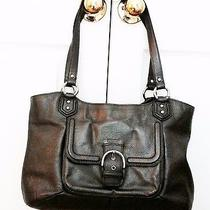 Authentic Coach Leather Campbell Belle Bag F24961 Photo