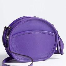 Authentic Coach Leather Canteen Handbag Ultraviolet Purple  Photo