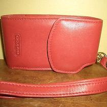 Authentic Coach Leather Cell Phone Case Wristlet Photo