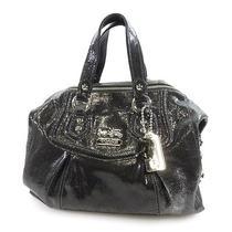 Authentic Coach Leather  Handbag   Logo Design 14232 Photo