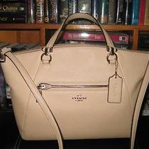 Authentic Coach Leather Prairie Satchel in Nude Photo