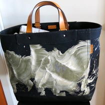 Authentic Coach Limited Edition James Nares Large Tote. Black Photo
