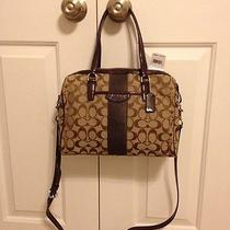 Authentic Coach Nancy Satchel Bag New With Tags Photo