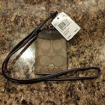Authentic Coach New York Lanyard Id Luggage Tag New W/ Tags  Photo