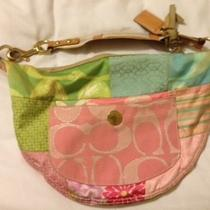 Authentic Coach Patchwork Hobo Photo