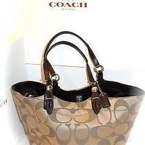 Authentic Coach Satchel Hand Bag Photo