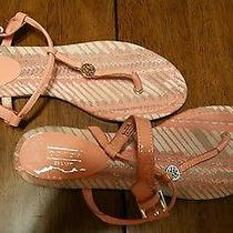 Authentic Coach Shirley Sandals Size 8 1/2 New Without Tags  Pink & White Photo
