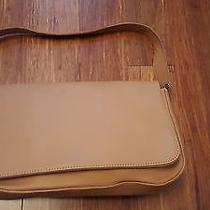 Authentic Coach Signature Leather Camel Handbag Tote Purse Photo