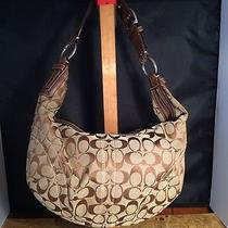 Authentic Coach Signature Purse D06n-10075 Tote Bag Purse Handbag Photo