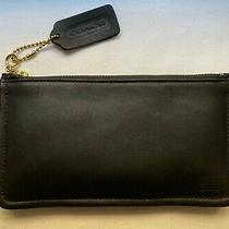 Authentic Coach Skinny Case in Black Leather - 7170 - Nwt - Never Used Photo