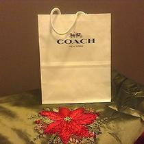 Authentic Coach Small Gift Bag Photo