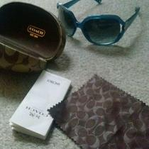 Authentic Coach Sunglasses (Blue) Photo