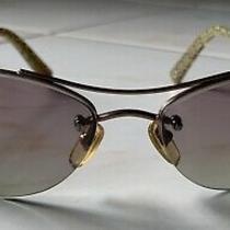 Authentic Coach Sydney (S324) Aviator Sand Sunglasses  Photo