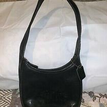Authentic Coach Vintage Ergo Hobo Shoulder Bag 9020 Black Leather W/hang Tag Photo