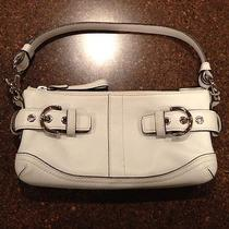 Authentic Coach White (Off White) Leather Purse Photo