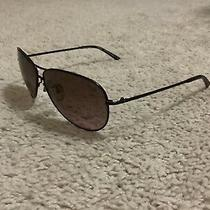 Authentic Coach Women's Designer Sunglasses Purple Metal Frame Aviator With Case Photo