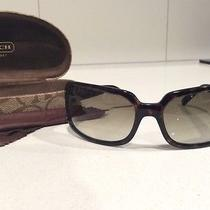 Authentic Coach Womens Sunglasses Samantha Tortoise Style Perfect for Summer Photo