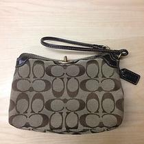 Authentic Coach Wristlet Photo