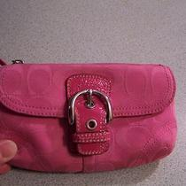 Authentic Coach Wristlet Pink Photo