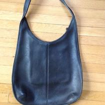 Authentic Couch Hobo Leather Bag Black  Photo