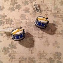Authentic Crocs Jibbitz Shoe Charms Set of 2 Snare Drums Nwt Photo