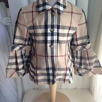 Authentic Designer Burberry Children Girls Jacket/coat Siz 6 Years Photo