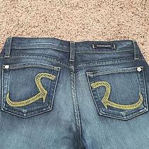 Authentic Designer Rock & Republic Name Brand Jeans- Size 29x33 Length Photo