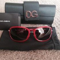 Authentic Dolce and Gabbana Sunglasses Dg 2035 Photo