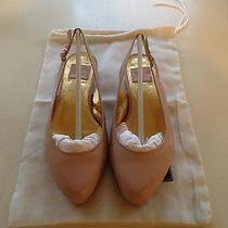 Authentic Dolce Vita Slingbacks Flats Patent Leather Pink Blush Shopbop Size 6 Photo