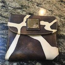 Authentic Dooney & Burke Cow Print Wallet Photo
