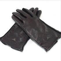 Authentic Emporio Armani a Glove Leather/wool Photo