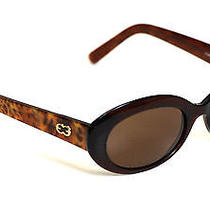 Authentic Escada E1380 Brown/brown Tortoise Sunglasses Photo