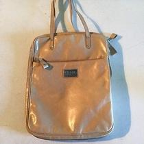 Authentic  Escada Hand Laptop Computer Bag  Made in Italy Tan Photo